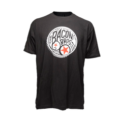 Men's Black Bacon Bros Coin Tee