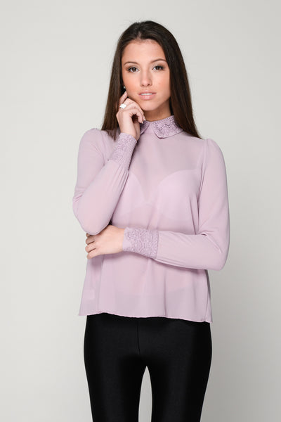Anoda Back Buttons Blouse