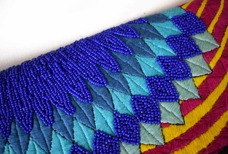Blue Star | Embellished Luxury Clutch Bag