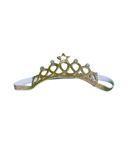 Gold Crown Headband (Infant)