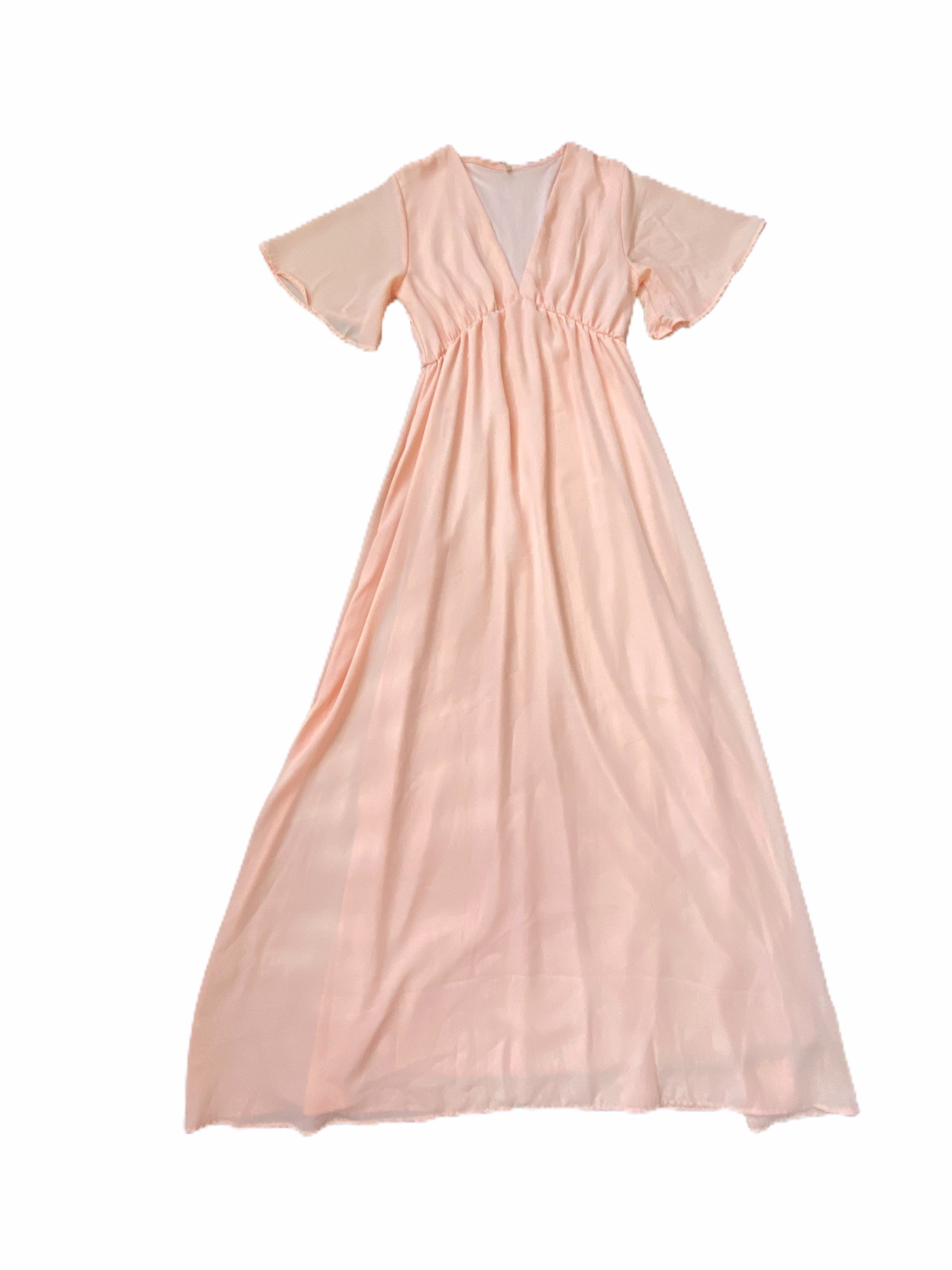Pink Blush Pink Dress (Maternity Small)
