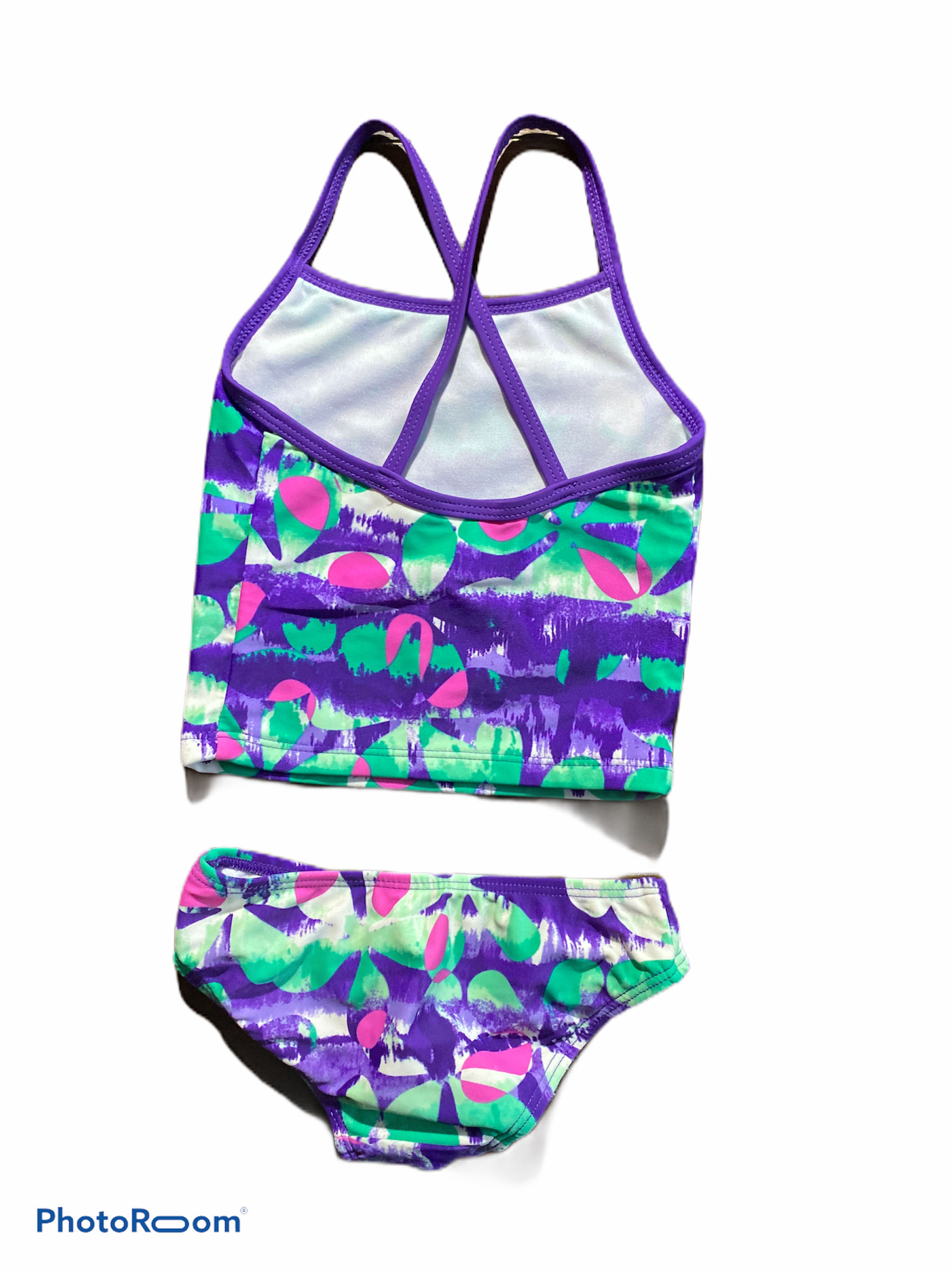 Kami 2PC Purple Swim Suit (2T Girls)