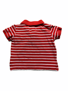 L.O.G.G. Red Stripe Polo (3/6M Boys)