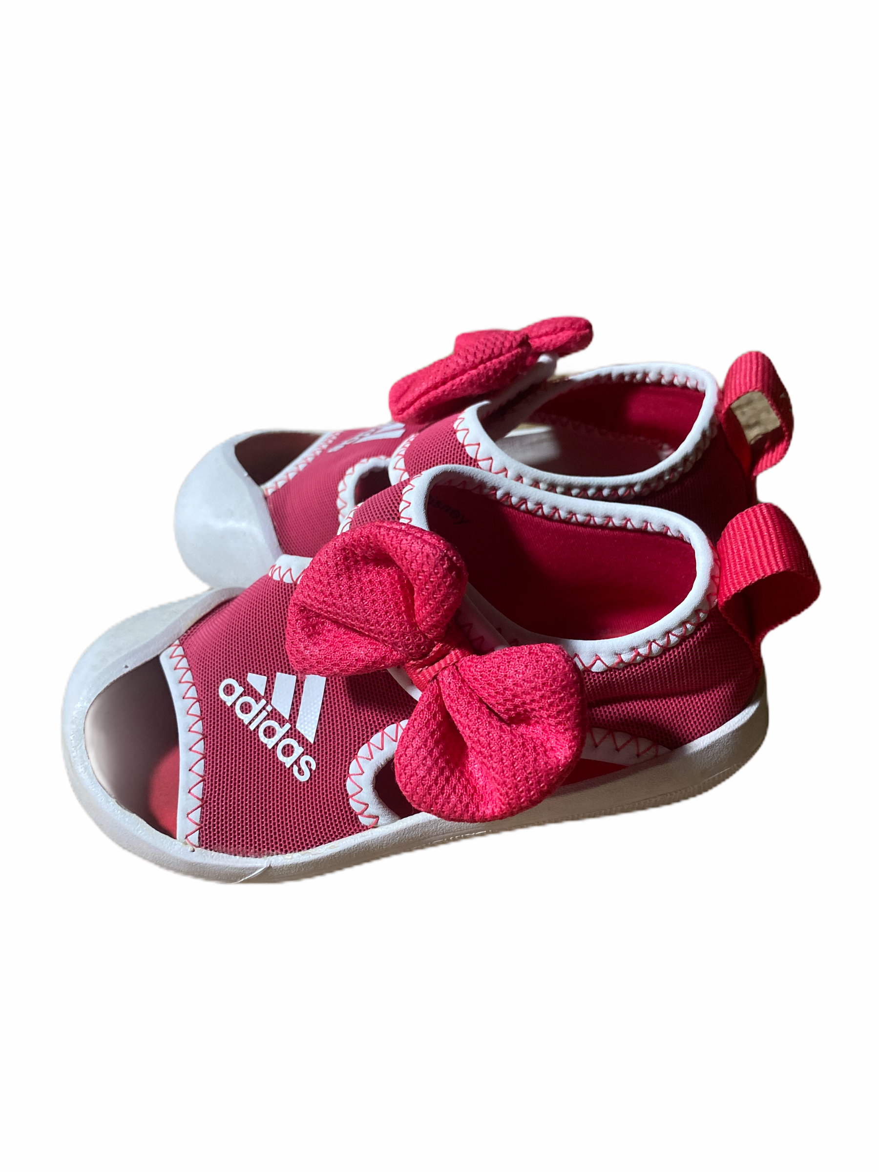 Adidas Pink Sandals (size 6)