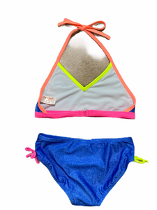 Cat & Jack Blue 2-Piece Swimsuit NWT (7/8 Girls)
