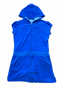 Justice Blue Swim Cover Zip (6/7 Girls)
