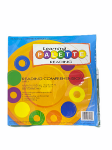 Learning Palette Wrap-Ups Reading Comprehension Level 1
