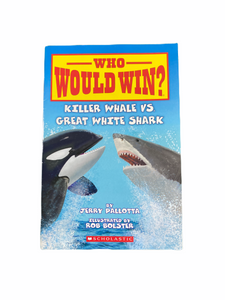 Who Would Win? Killer Whale vs Great White Shark
