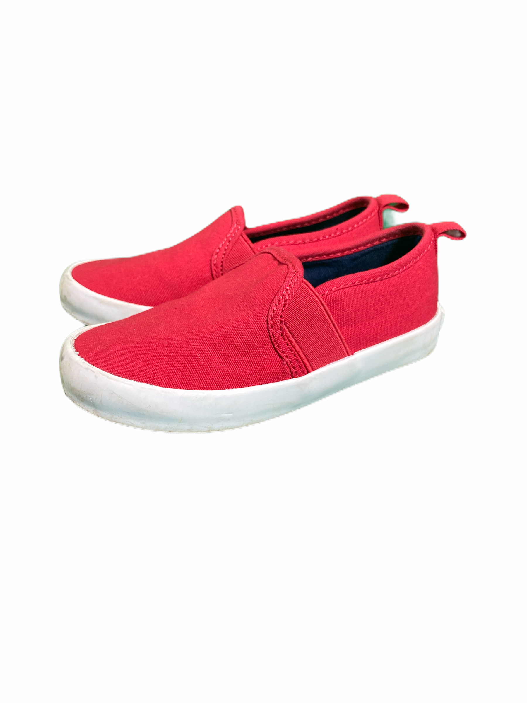 Old Navy Red Slip Ons (Size 8)
