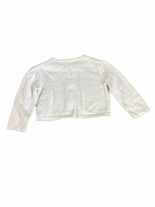 Gymboree White Cardigan (3/6M Girls)