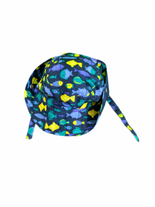 Gymboree Navy Fish Hat (18/24M Girls)