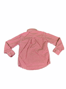 Carter's Long Sleeve Red Gingham Button-Down (4T Boys)