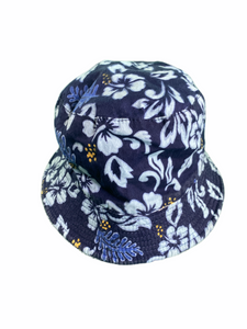 Navy Aloha Bucket Hat (12/24M Boys)