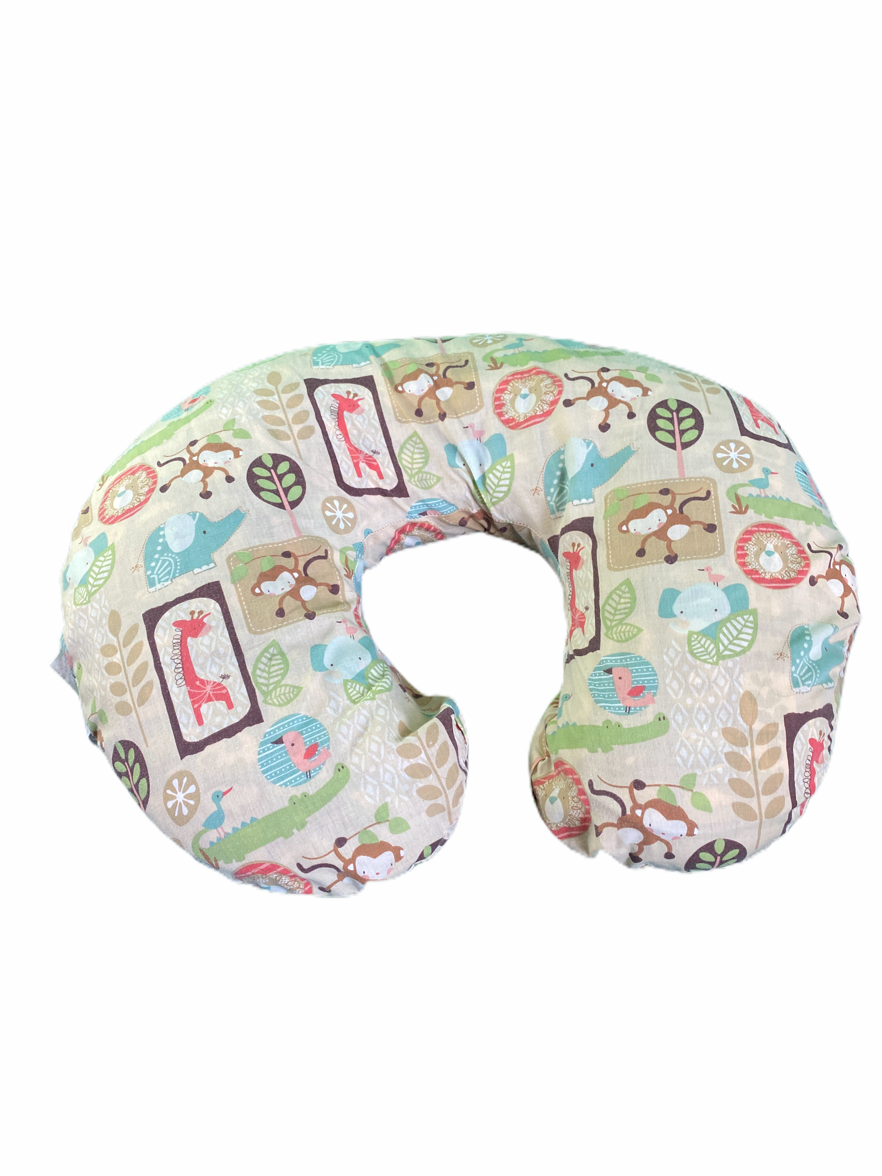 Boppy Nursing Support Pillow Safari Print