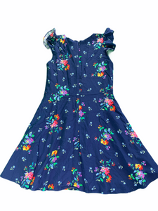 Gap Navy Floral Dress NWT (10/12 Girls)