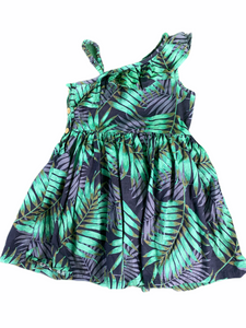 OshKosh Green Leaf Dress (2T Girls)