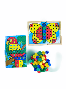 Melissa & Doug Sort and Snap Color Match