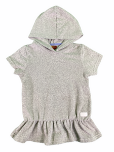 7 for All Mankind Gray Hooded Tunic (4T Girls)