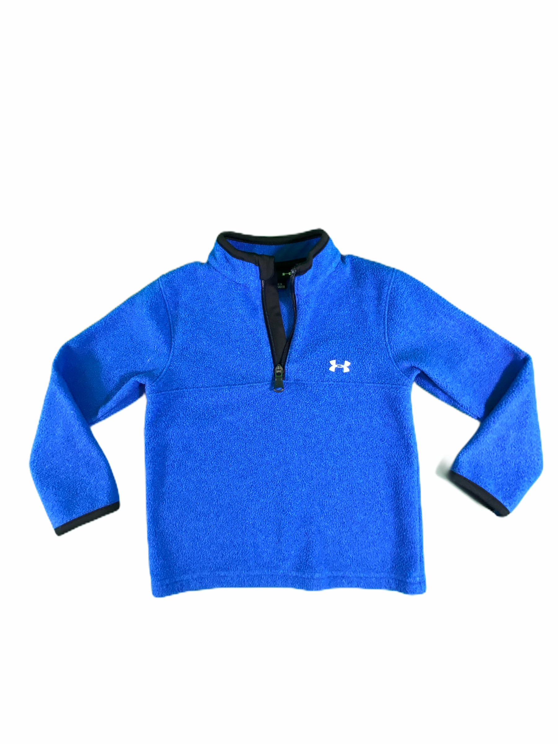 Under Armour Blue Fleece Pullover (3T Boys)