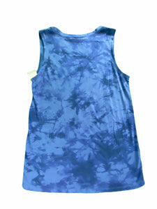 "Modern Lux Navy ""Happy And Free"" Tank (14/16 Boys)"
