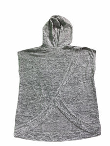 "H & M Gray ""#Friendship Goals"" Hooded Top (10/12 Girls)"