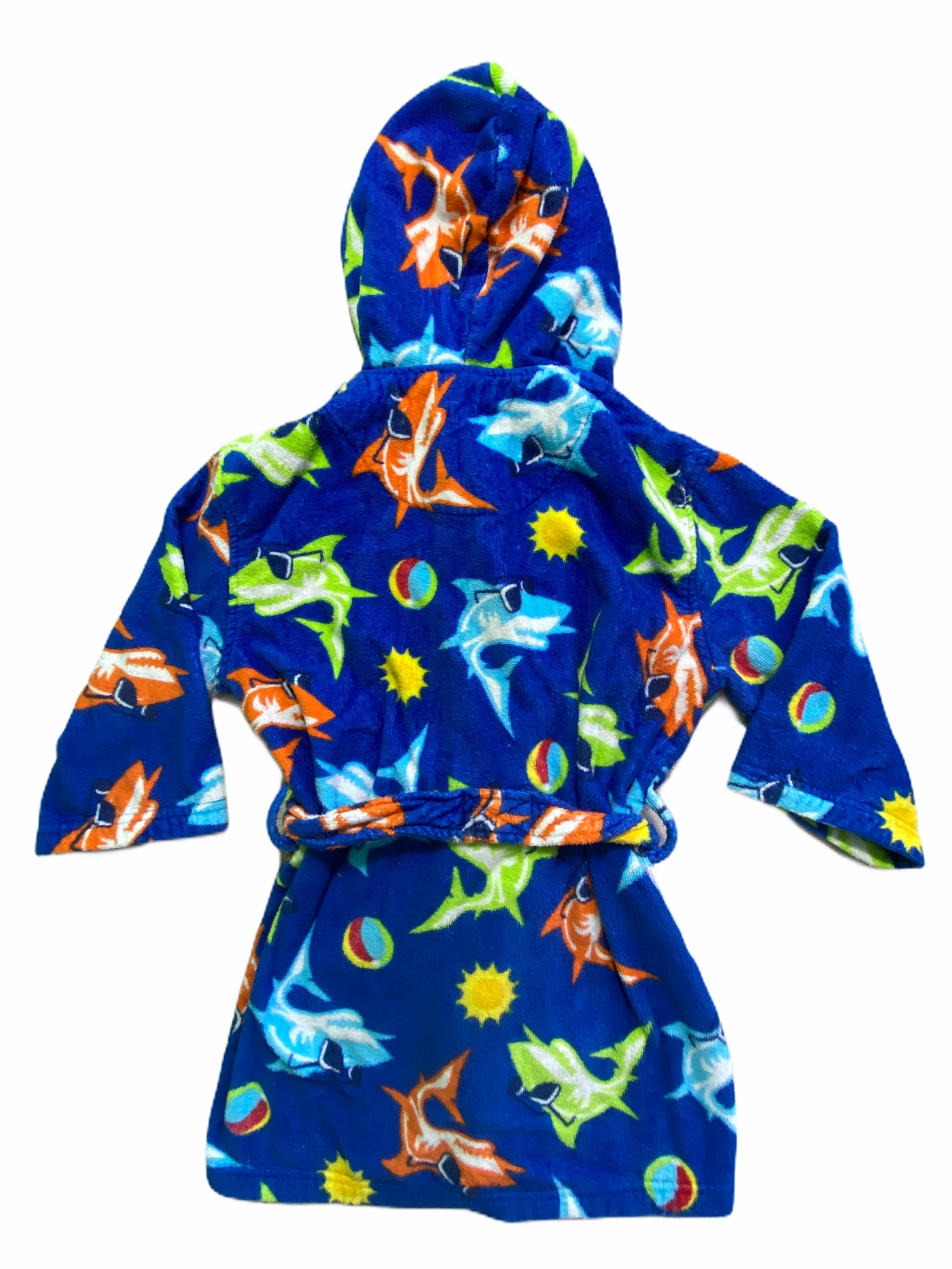 St. Eve Blue Shark Robe (5/6 Boys)