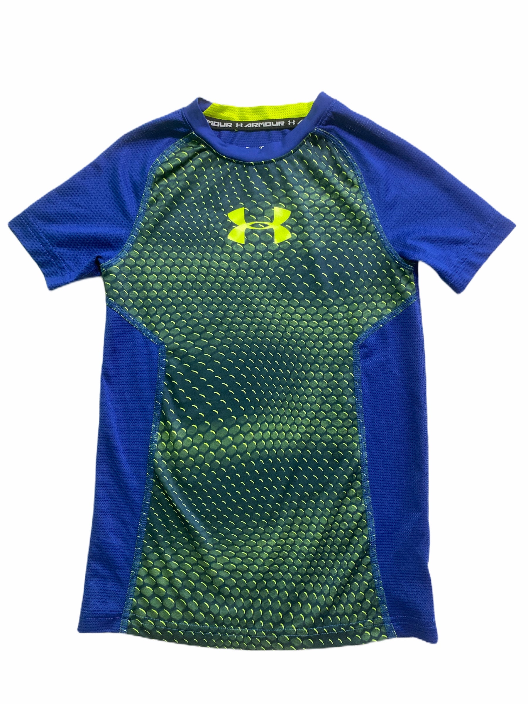 Under Armour Blue Athletic Tee (5/6 Boys)
