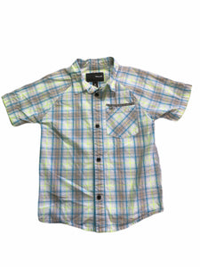 Hurley Plaid Button Down (6 Boys)