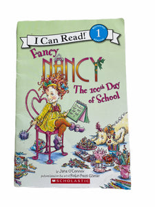 I Can Read Fancy Nancy The 100th Day Of School Book