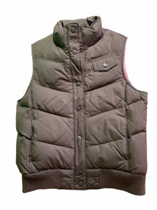 Gap Brown Puffer Vest (14/16 Girls)