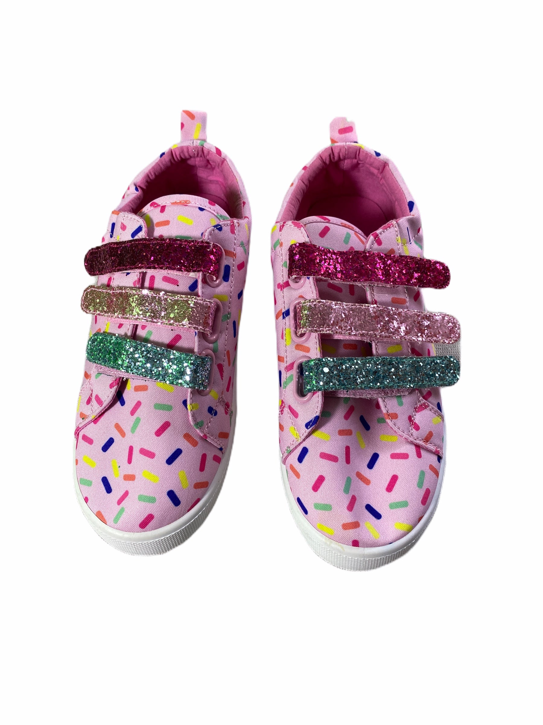 Fab Kids Pink Confetti Shoes (size 5Y)