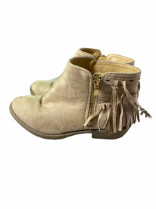 Fab Kids Tan Ankle Boot (size 4Y)