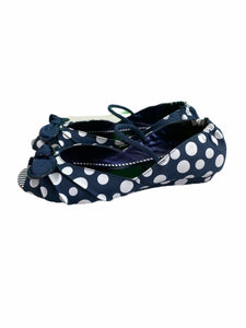 Kenneth Cole Reaction Navy Polka Dot Flats (size 4.5Y)