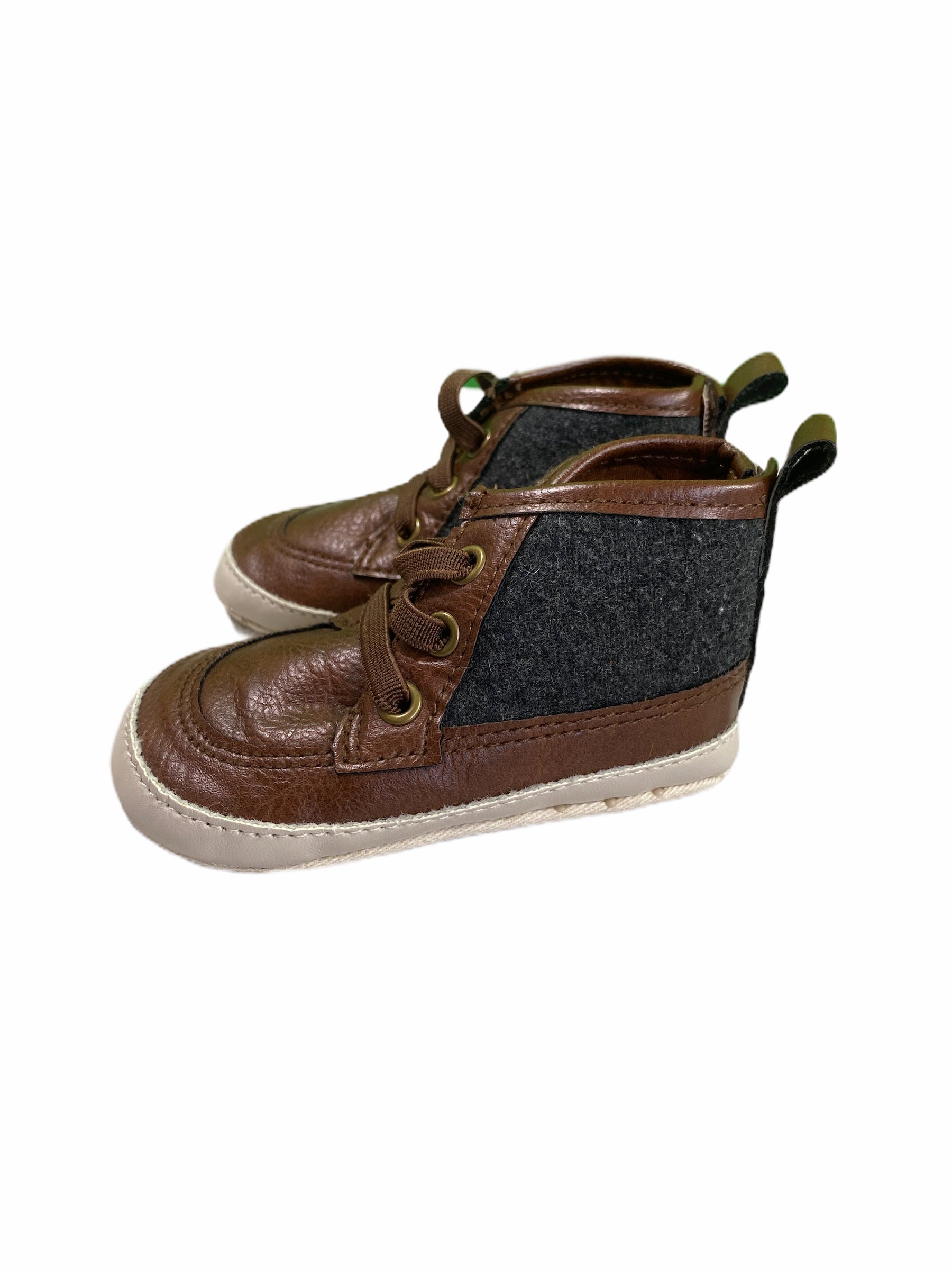 Old Navy Brown High Tops (size 2/3)
