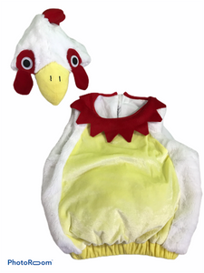 2 PC Chicken Costume (6/12M Neutral)