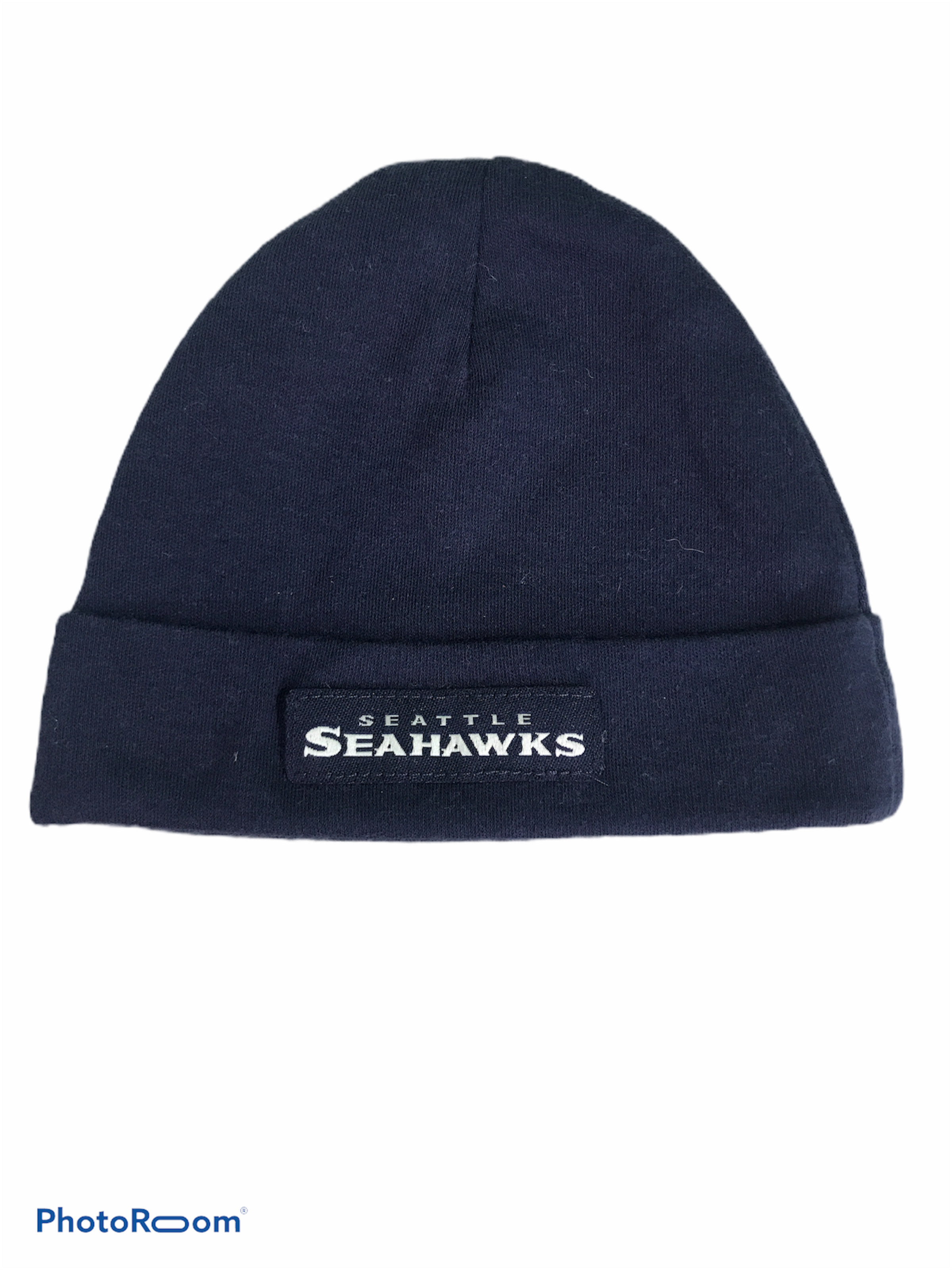 "NFL Navy ""Seahawks"" Hat (0/6M Boys)"