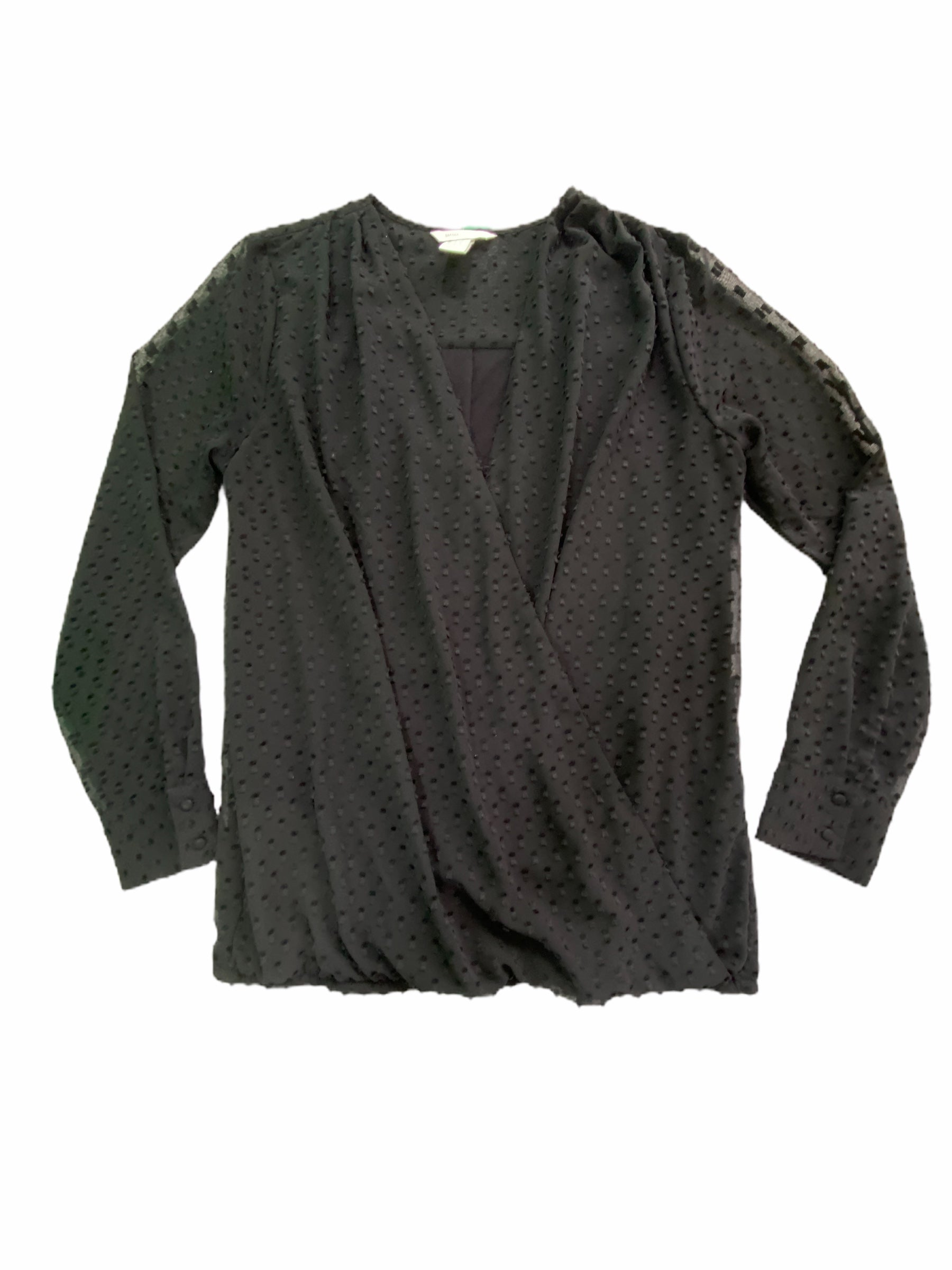 H & M Black Nursing Blouse (Maternity Small)