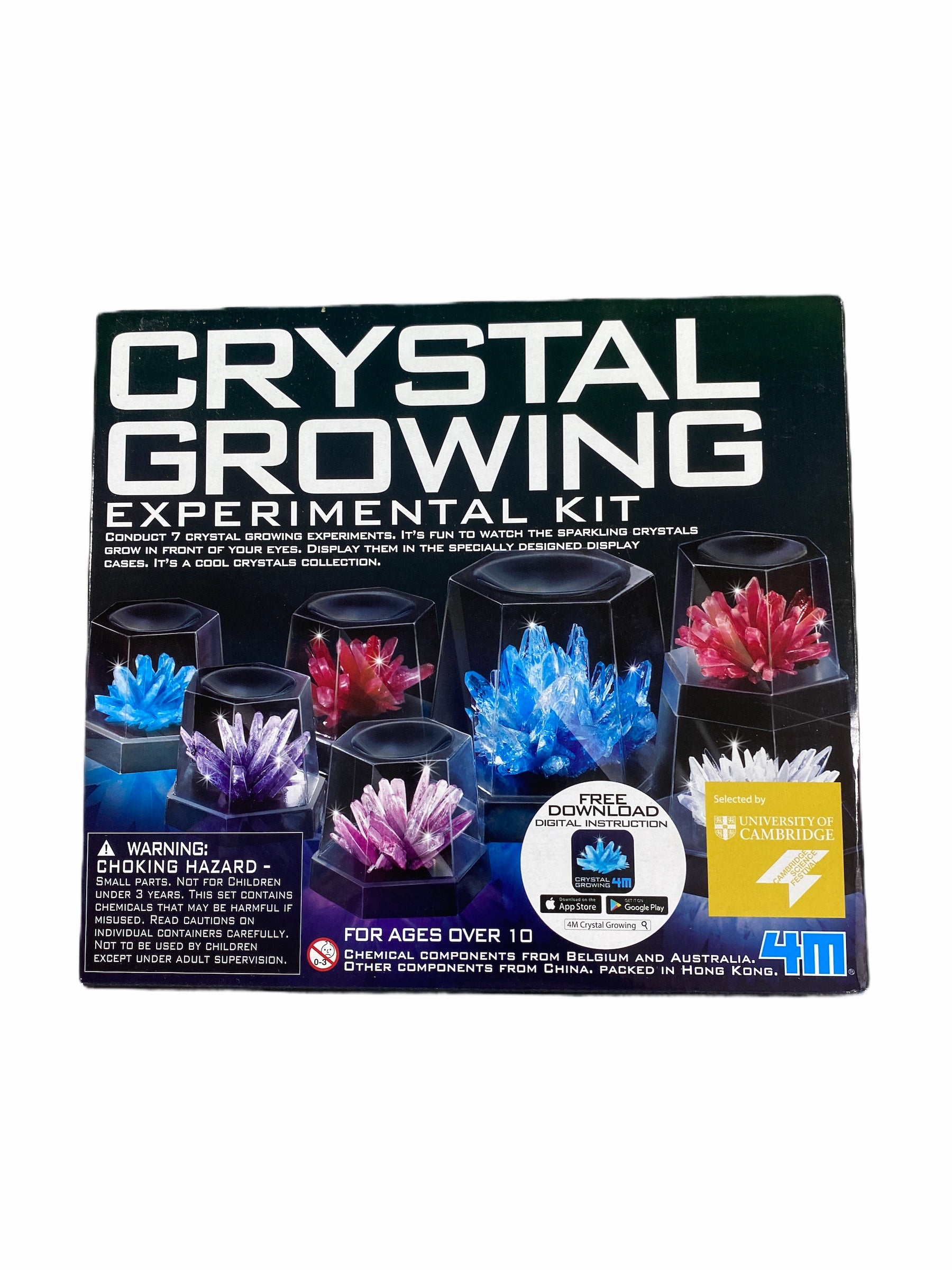 Toy Smith Crystal Growing Experimental Kit