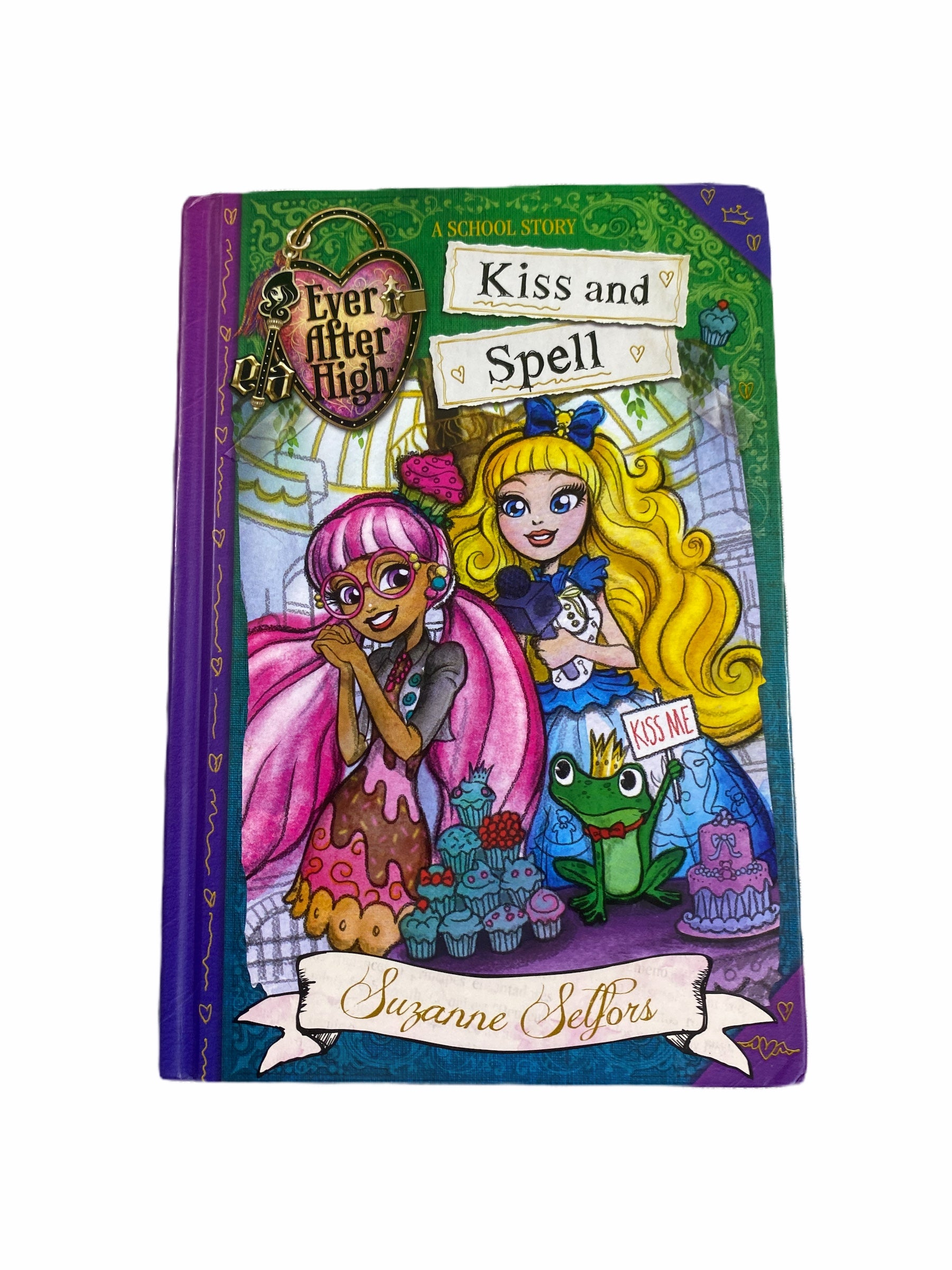 Ever After High Kiss & Spell Book