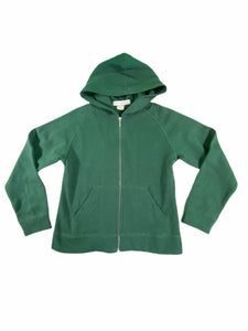 Antiqua Green Uniform Sweatshirt With Hood (5/6 Boys)