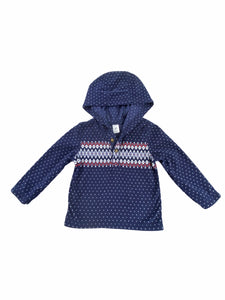Carter's Navy Fleece Pullover (24M Boys)