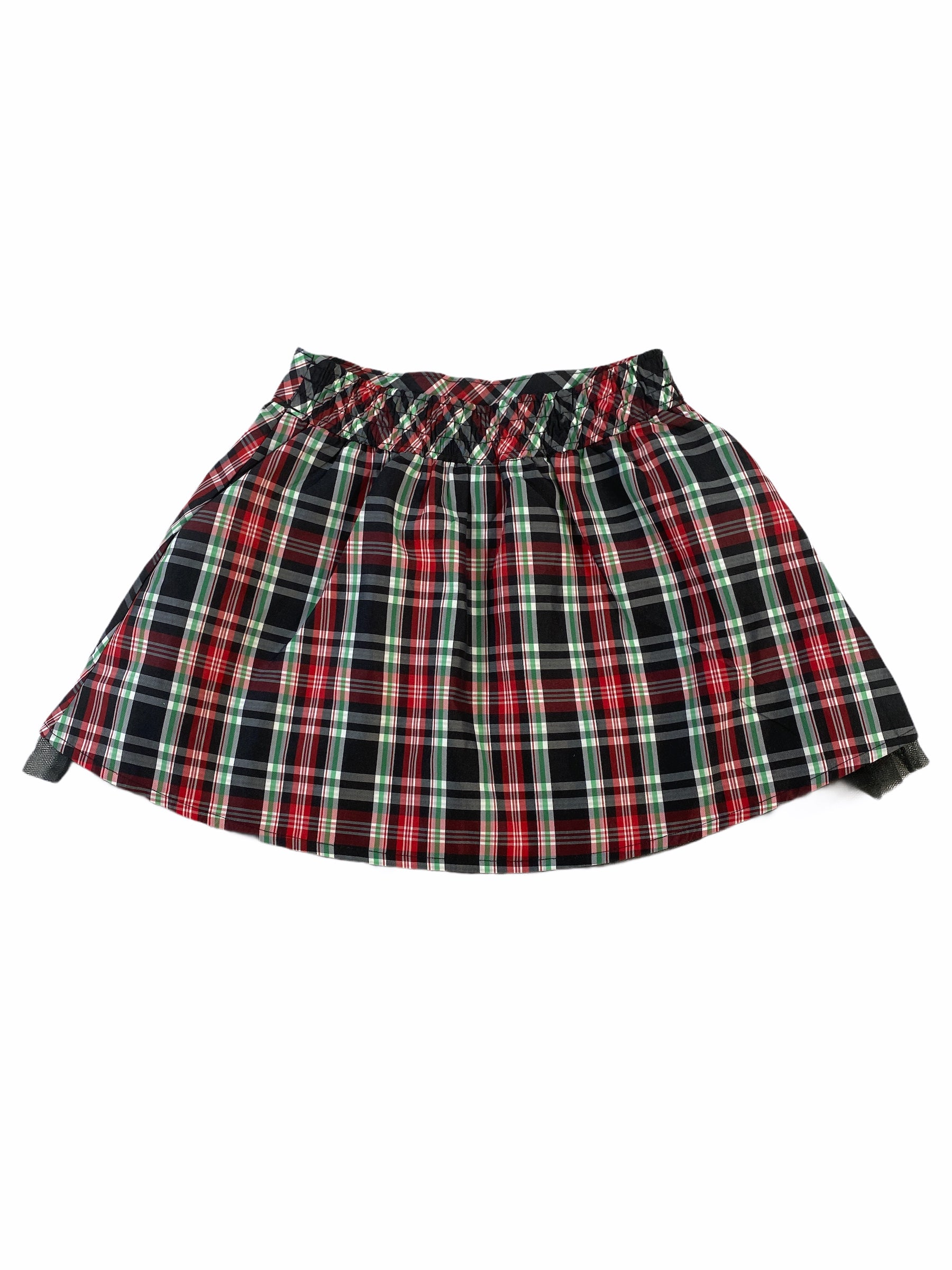OshKosh Red plaid Skirt (4T Girls)
