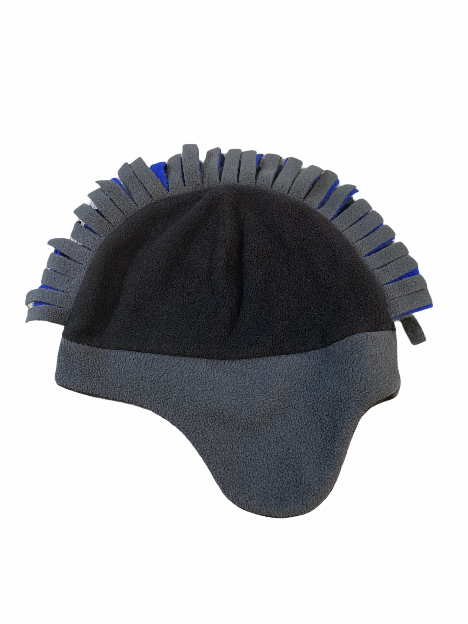 Place Black & Blue Fleece Mohawk Hat (8+ Boys)