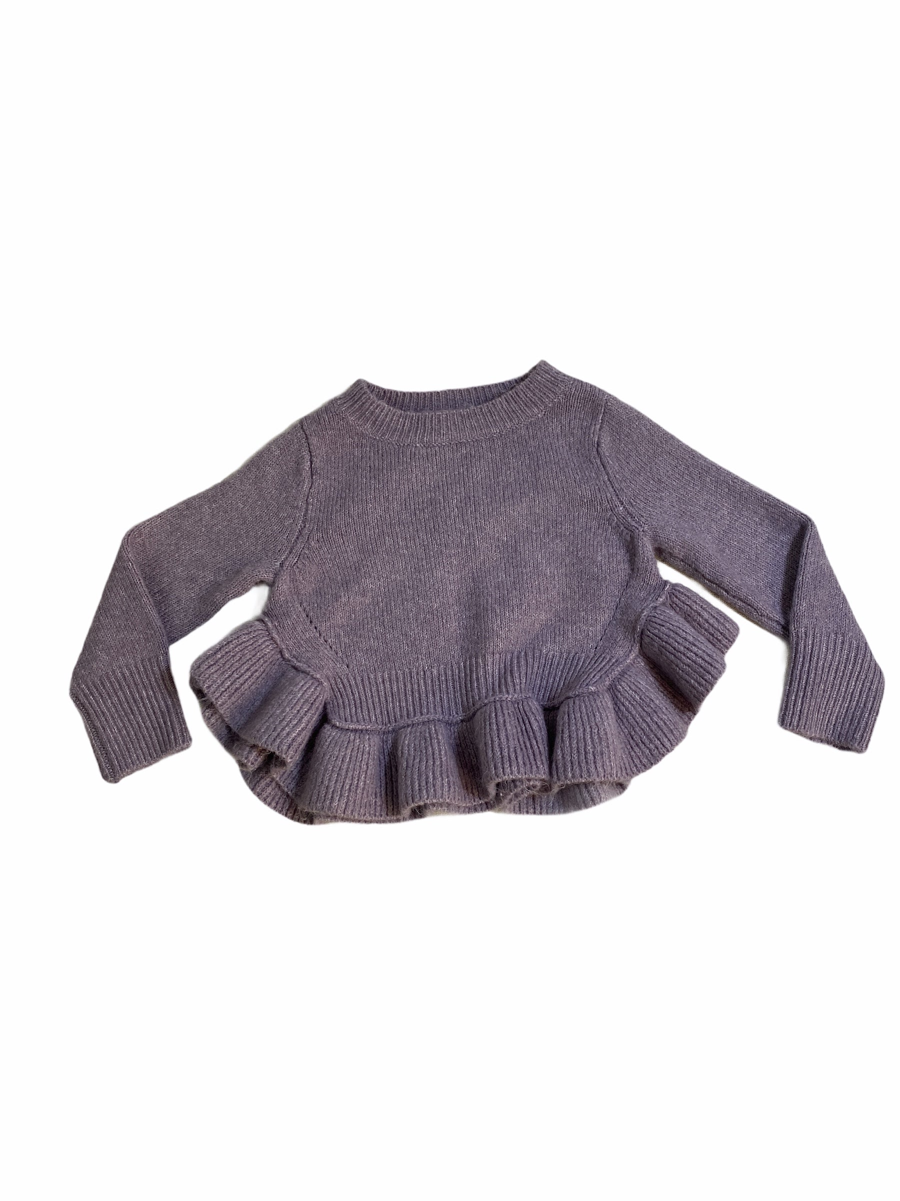 OshKosh Purple Sweater (12M Girls)