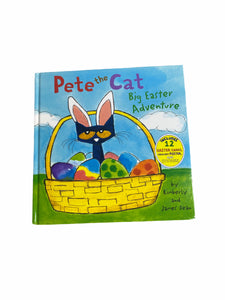 Pete The Cat Big Easter Adventure Book