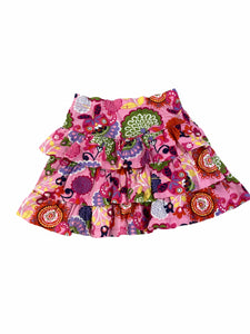 Hanna Andersson Floral Layer Skirt (5 Girls)