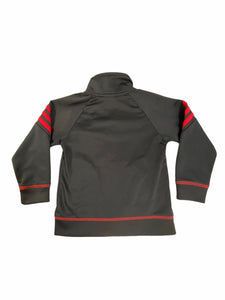 Adidas Black & Red Warm-Up Jacket (2T Boys)