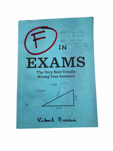 F In Exams Book