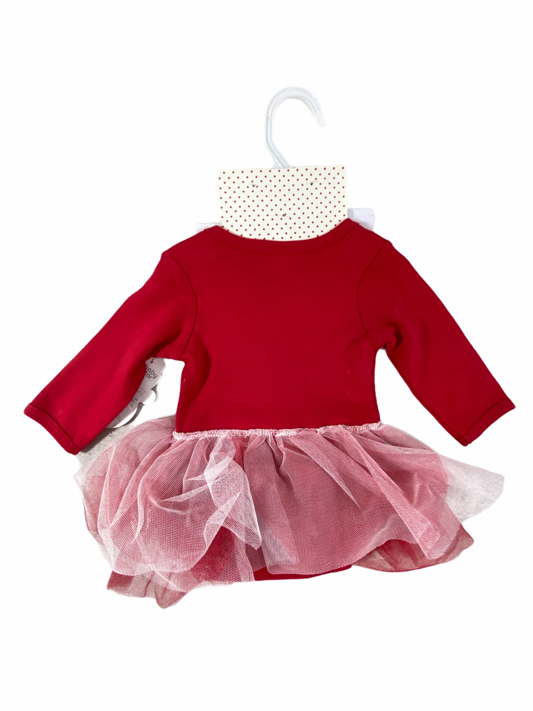 Baby Gear First Christmas Tutu Set NWT (3/6M Girls)