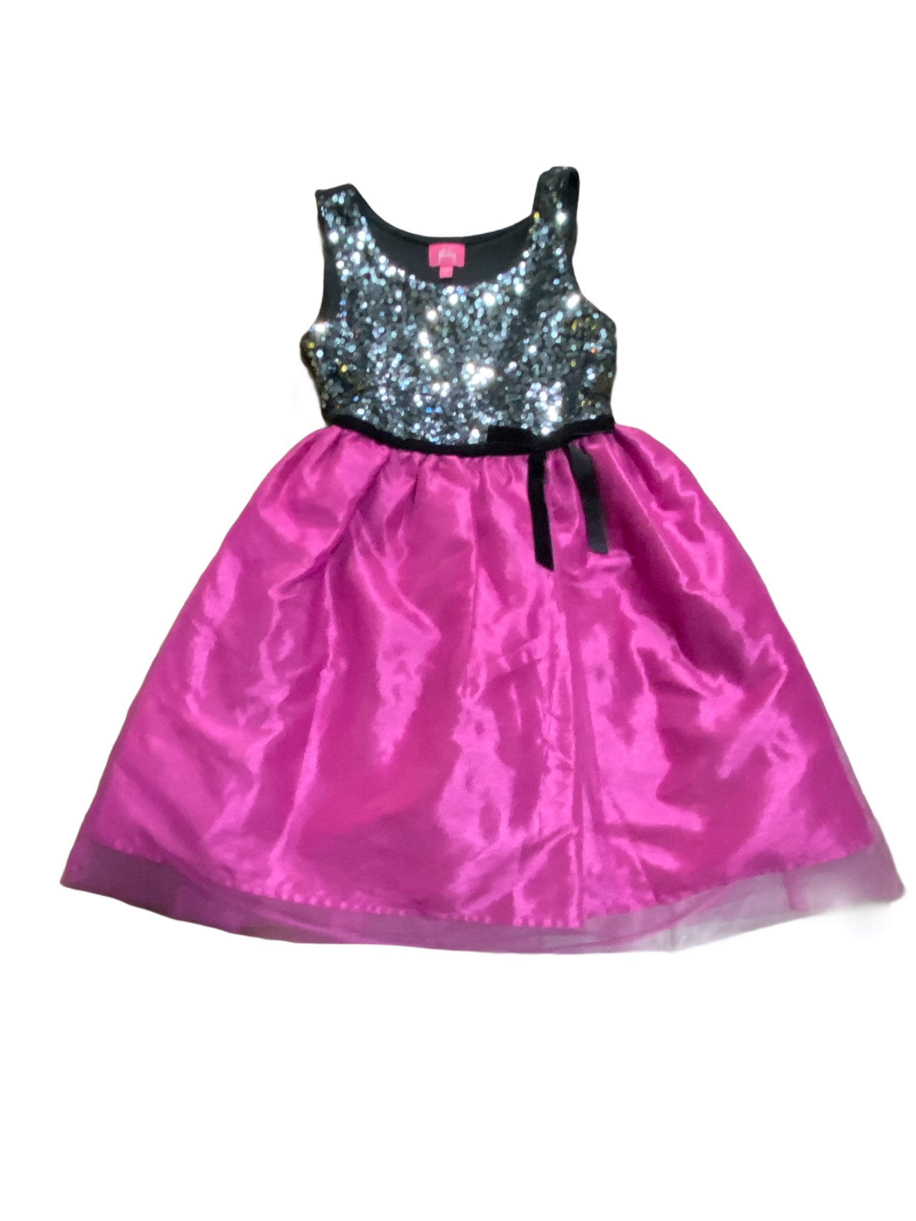Pinky Pink Tulle & Sequin Dress (10 Girls)